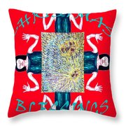 Christmas Blessings 3 Throw Pillow