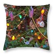 Christmas Bling #2 Throw Pillow