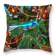 Christmas Bling #3 Throw Pillow