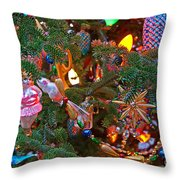 Christmas Bling #4 Throw Pillow