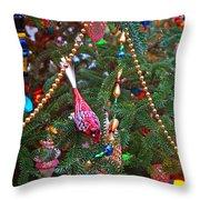 Christmas Bling #5 Throw Pillow