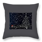 Christmas Card 10 Throw Pillow