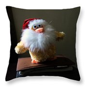 Christmas Chicken Throw Pillow