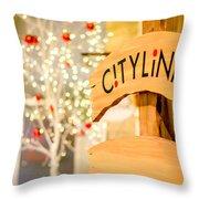 Christmas Decorations 4 Throw Pillow