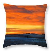 Christmas Eve Panrama 2 Throw Pillow