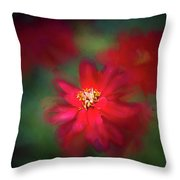 A Flowerr For Christmas Throw Pillow