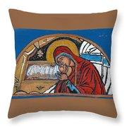 Christmas Icon 1 Throw Pillow