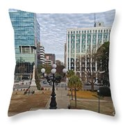 Christmas In Columbia Throw Pillow