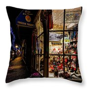 Christmas In Northport Throw Pillow