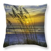 Christmas In St Augustine Fl  Throw Pillow