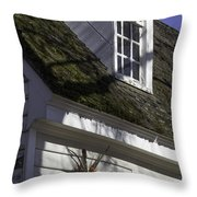 Christmas In Williamsburg Throw Pillow