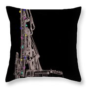 Christmas Intercoastal Abi Throw Pillow