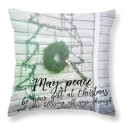 Christmas Island Tree Quote Throw Pillow