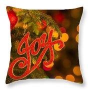Christmas Joy Throw Pillow