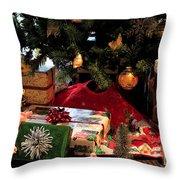 Christmas Memories Throw Pillow