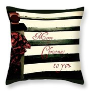 Christmas No. Eleven Throw Pillow