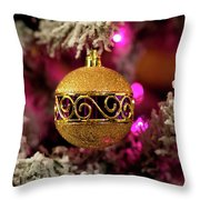 Christmas Ornament 1 Throw Pillow