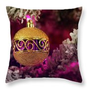 Christmas Ornament 2 Throw Pillow