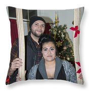 Christmas Party 2014 - 026 Throw Pillow