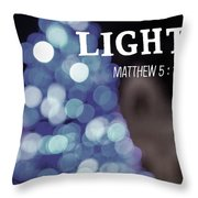 Christmas Quote Throw Pillow