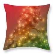 Christmas Radiance Throw Pillow