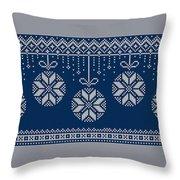 Christmas Sweater Throw Pillow
