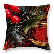 Christmas Time Is Here Throw Pillow