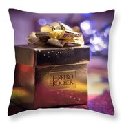 Christmas Treat Throw Pillow