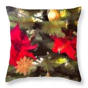 Christmas Tree 6 Throw Pillow