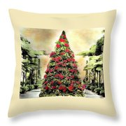 Christmas Tree Oh Christmas Tree Throw Pillow