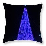 Christmas Tree San Salvador 2 Throw Pillow
