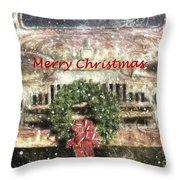 Christmas Truck Throw Pillow