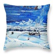 Christmas Wonderland Throw Pillow
