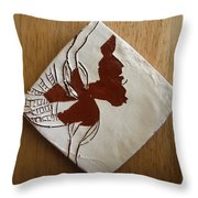 Christobel - Tile Throw Pillow
