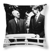Christopher Cockerell Throw Pillow