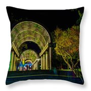 Christopher Columbus Park 3764 Throw Pillow