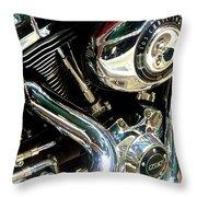 Chrome Beauty 1 Throw Pillow