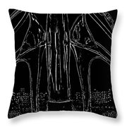 Chrome Machines Throw Pillow