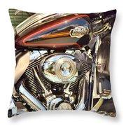 Chrome Magnet Throw Pillow