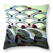 Chrome Sundae Throw Pillow