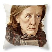Chronic Dementia, 1896 Throw Pillow
