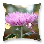Chrysanthemum Happiness Throw Pillow
