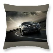 Chrysler 200 Throw Pillow
