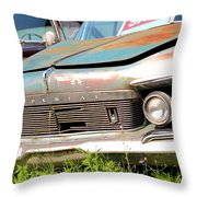 Roadside Imperials Throw Pillow