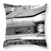 Roadside Imperials -  Bw Throw Pillow