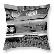 Chrysler Imperials - Bw Throw Pillow