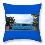 Chu - Mikals - Friendly Austin Texas Charm Throw Pillow