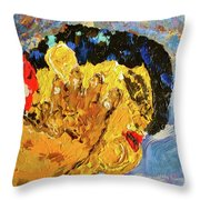 Chubby In Dreamland Throw Pillow