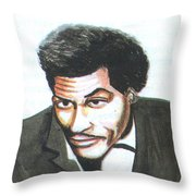 Chuck Berry 45 Throw Pillow