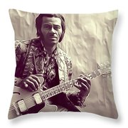 Chuck Berry, Music Legend Throw Pillow